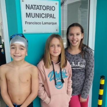 YA SE TOMARON LOS TIEMPOS: Los niños del Natatorio Municipal participarán de los Juegos Bonaerenses