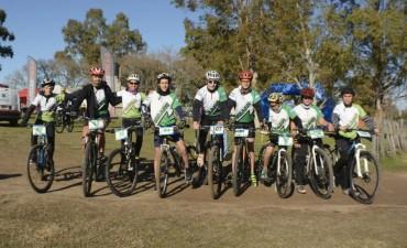 El pasado fin de semana la Escuela Municipal de Ciclismo participó el Campeonato Regional de Rural Bike en Daireaux
