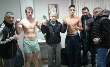 Festival de Boxeo en Arboledas organizado por Carlos Gasparini