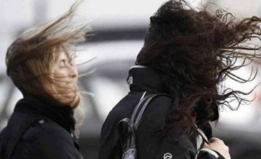SMN: Vientos intensos para el centro de la provincia de Buenos Aires