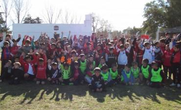 Exitoso 'Encuentro de Escuelitas' en Urdampilleta organizado por el CAU