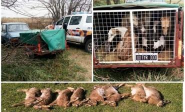El CPR de 25 de Mayo previene a diario el accionar de los cazadores furtivos