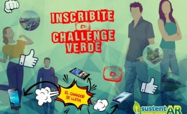CHALLENGE VERDE, DESAFÍO VERDE: Ambiente invita a los jóvenes a participar de un concurso de videos