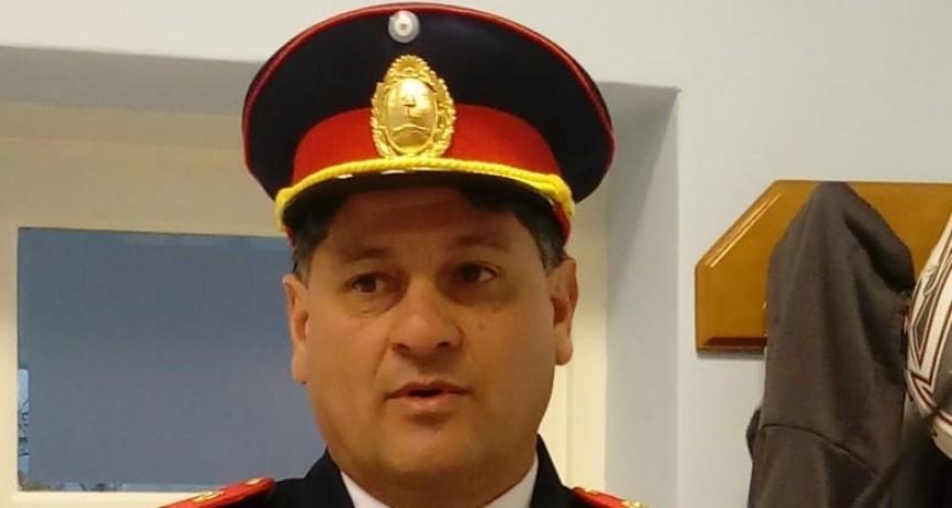 Roque Omar Bazán fue ascendido a Comandante Mayor