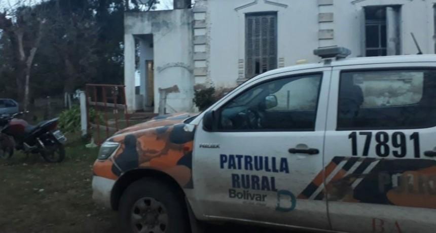Informe Oficial de CPR Bolívar: Allanaron, secuestraron elementos y notificaron al imputado de la formación de la causa