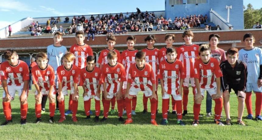 Se disputó la 8º fecha del torneo de divisiones inferiores