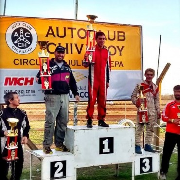Karting: Federico Díaz ganó en Chivilcoy de punta a punta