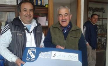 Tarjeta Azul de Independiente: Un vecino de Villa Diamante ganó 24 mil pesos