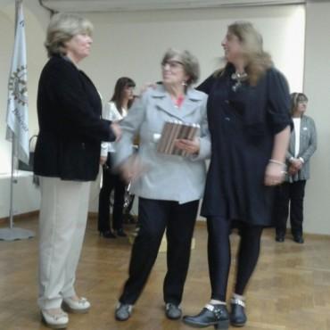 Una vida en la docencia: Norma Echave reconocida por Rotary