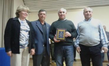 Por el esfuerzo empresarial, Muñoz Hermanos fue reconocido por Rotary