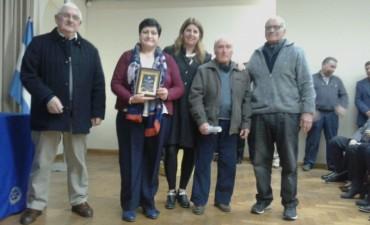 Por la trayectoria y el rol social, el Centro de Jubilados de Pirovano fue premiado por Rotary