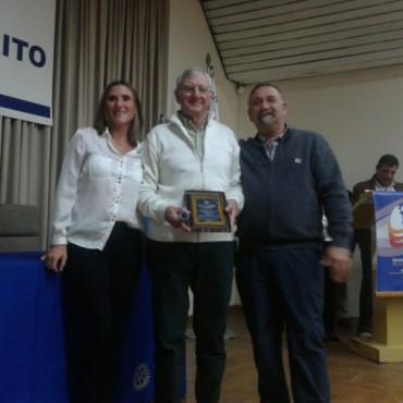 Rubén Tamborenea galardonado por el Rotary Club con el premio Trabajador Destacado