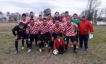Fútbol Rural Recreativo: En Primera, algunos partidos con muchos goles; en Segunda todos fueron empates