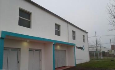 Bucca inaugura la puesta en valor y ampliación del gimnasio de Urdampilleta