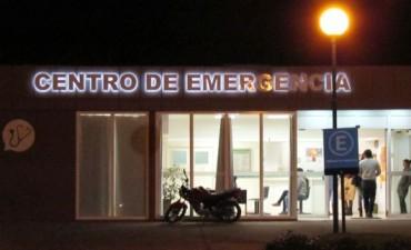 Mario Carona fue internado en el Hospital de Bolívar