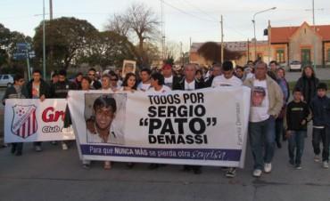 "La tercera caminata para recordar a Sergio ""Patito"" Demassi"