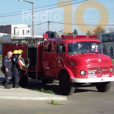 Motocilista cayó al asfalto en la Tres de Febrero
