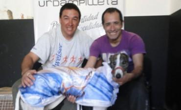 Marcelo Portella, propietario de Chiruza, visitó Radio Urdampilleta