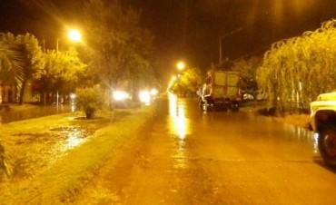 Más de 30 milímetros fue la marca tras las lluvias registradas