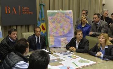 Scioli declaró la emergencia hídrica