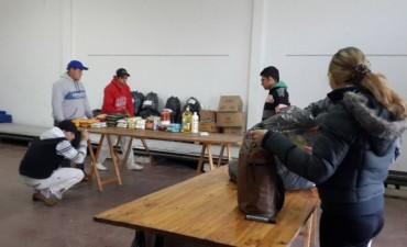 Pirovano: Aspirantes a Bomberos Voluntarios colectan insumos para los inundados