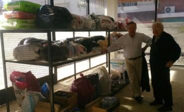 Los Jóvenes del PRO viajaron a Salto a entregar  su colecta solidaria