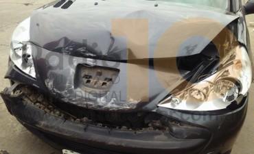 Dos conductores protagonizaron una leve colisión