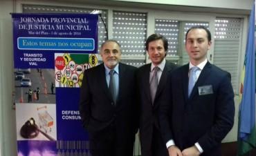 Franco Canepare participó de la Jornada Provincial de Justicia Municipal