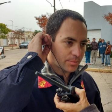 Incendio en una vivienda de Bº Latino durante la madrugada