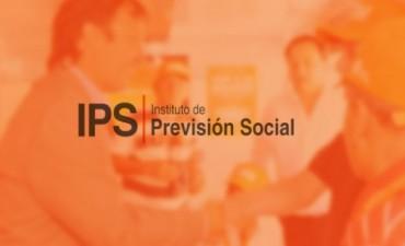 Desde el martes 30 jubilados y pensionados del IPS percibirán los haberes del mes de agosto