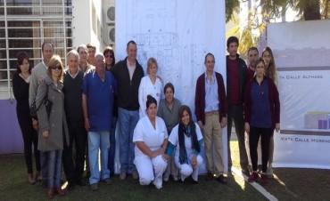 Alvear: El intendente Cellillo firmó un convenio para la construcción de la Guardia del Hospital por 19 millones de pesos