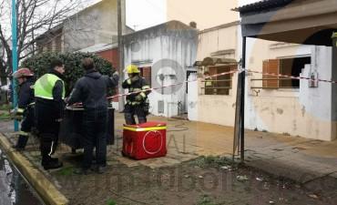 El incendio en una residencia de abuelos no pasó a mayores gracias al rápido accionar de un vecino de Bolívar