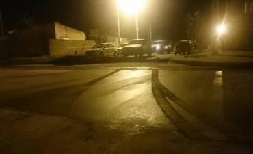 OBRA PAVIMENTO: Lo mismo que sucedió en el badén de la 25 de Mayo, pasó en una calle de Urdampilleta