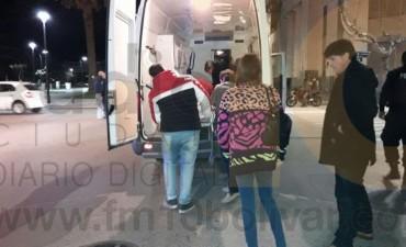 Accidente en San Martín y Gral. Paz: una ciclista hospitalizada