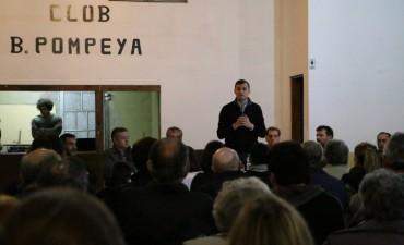 """BALI BUCCA: """"Si lo comparamos con la foto de hace seis años, hoy el Barrio Pompeya es otro"""""""