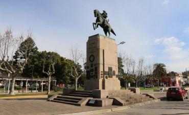 Este jueves se realiza el acto por el aniversario del fallecimiento del Gral. San Martín