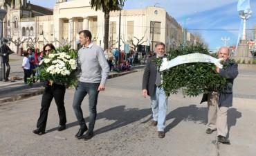 17 DE AGOSTO: Se conmemoró el 167° aniversario del fallecimiento del Gral. San Martín