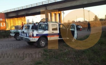 Puente Ruta 226: Una mujer intentó quitarse la vida, arrojándose al vacío