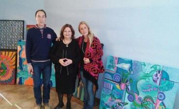 Olavarría: Este domingo inaugura el salón de pintura