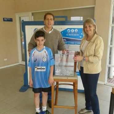 Se realizó el primer sorteo del Club Ciudad de Bolívar