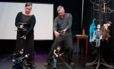 Las 'Marionetas Viajeras' pasaron por Bolívar brindando su espectáculo y una capacitación