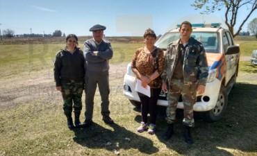 CPR de Bolívar recuperó 41 animales robados a un tambo