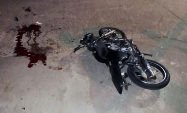 Grave accidente en barrio Melitona este sábado por la madrugada