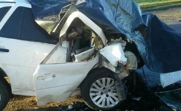 Accidente fatal en la Ruta Nacional 5, en el ingreso a Carlos Casares
