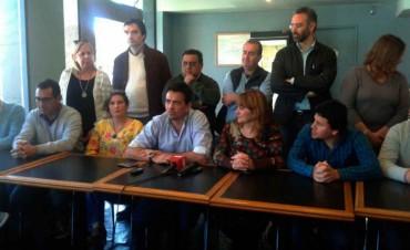 Conferencia prensa de Unidad Ciudadana en Bolívar