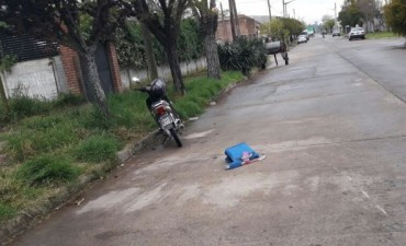 Esta mañana: Un animal ocasionó un accidente en la vía pública