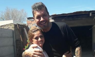 Marcelo Tinelli visitó de manera sorpresiva al comedor 'Pequeños Gigantes'
