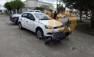 Impacto en las calles Alvarado y Quintana