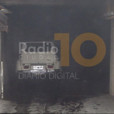 Ayer sábado: se incendió un auto en la calle Saavedra