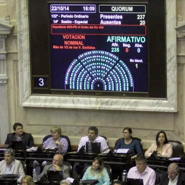 Diputados aprobó la obligatoriedad de la sala de 4 años